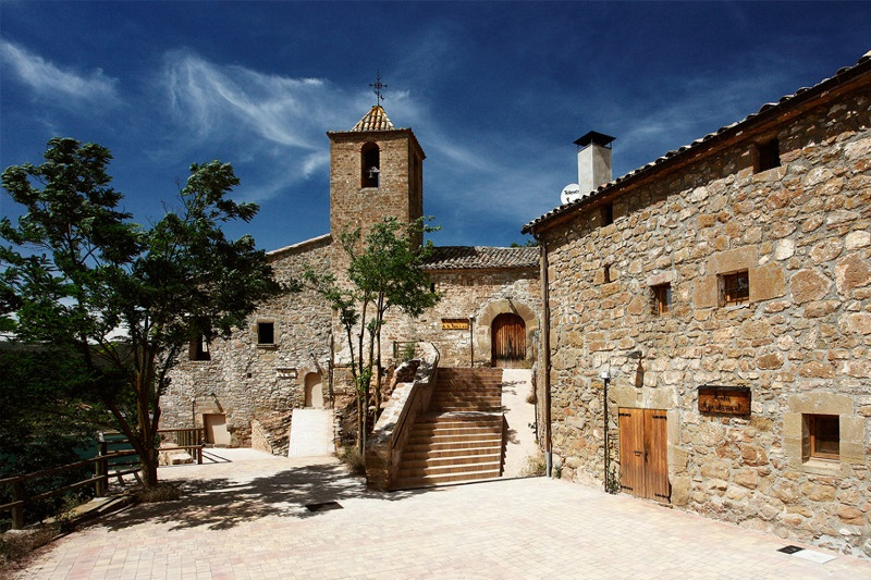 Old town Hall of La Torra