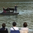 Espectacle 'Le piano du Lac' a l'embassament de Rialb. Foto: X.Santesmasses